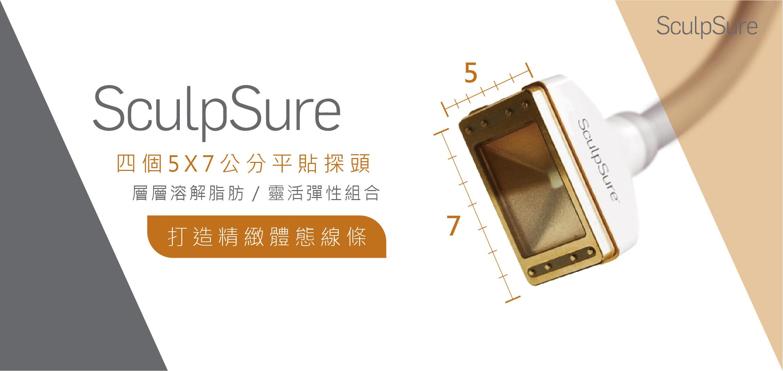 SculpSure絲酷秀平貼式探頭優勢